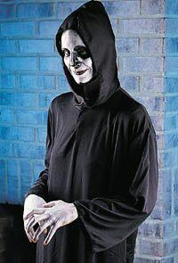 Black Hooded Grim Reaper Robe